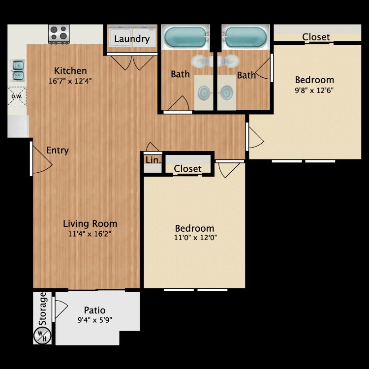 Floor plan image of Oviedo
