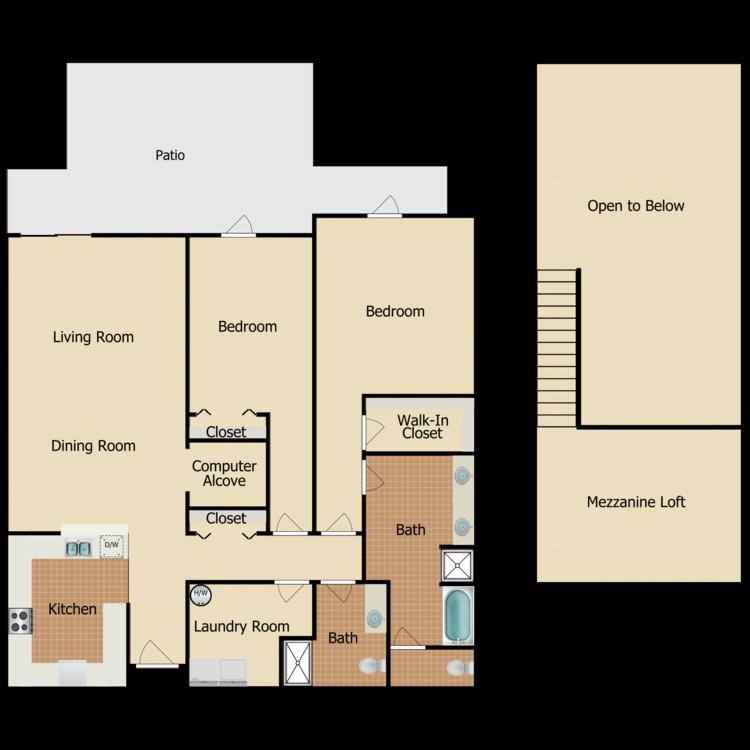Floor plan image of Camden Villa