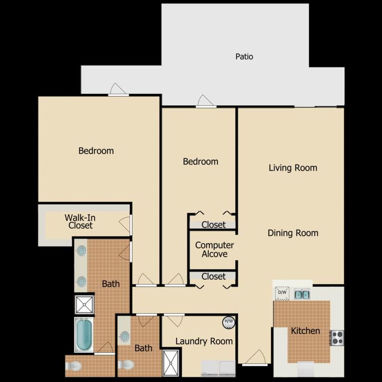 Floor plan image of Camden