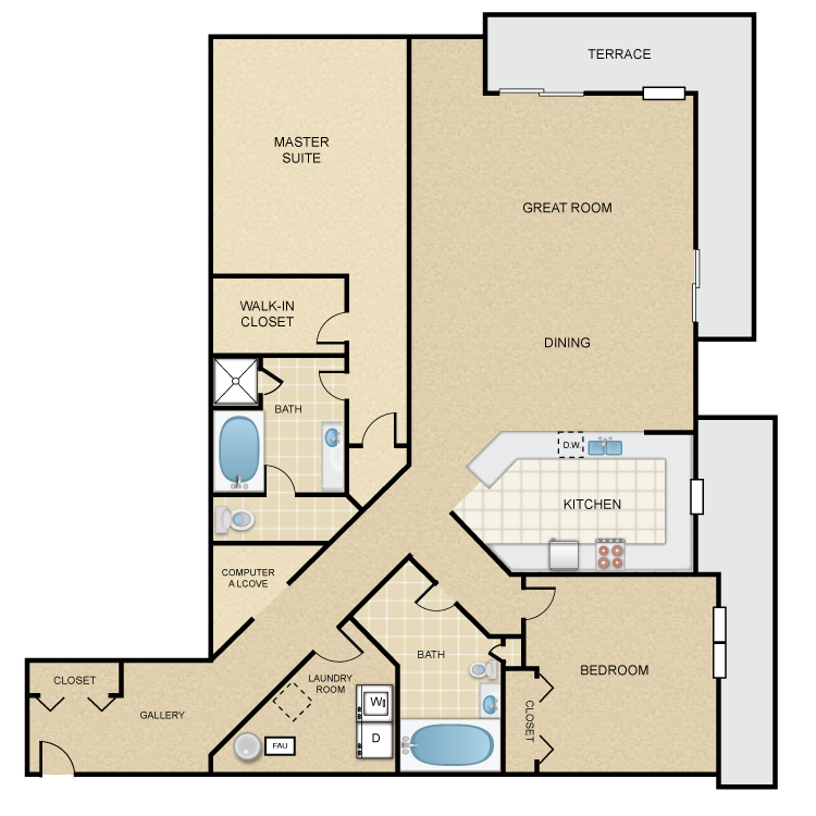 Floor plan image of Capistrano