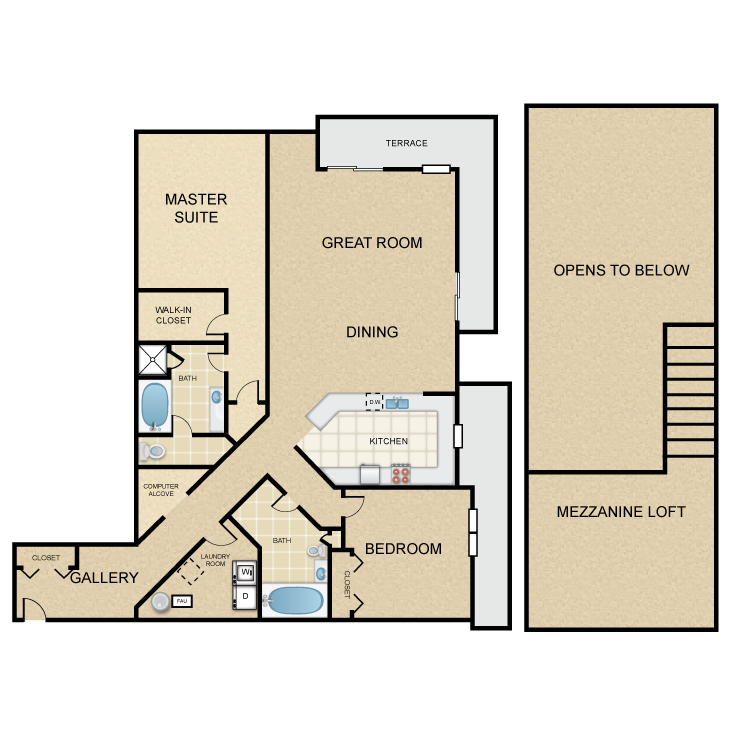 Floor plan image of Capistrano Villa
