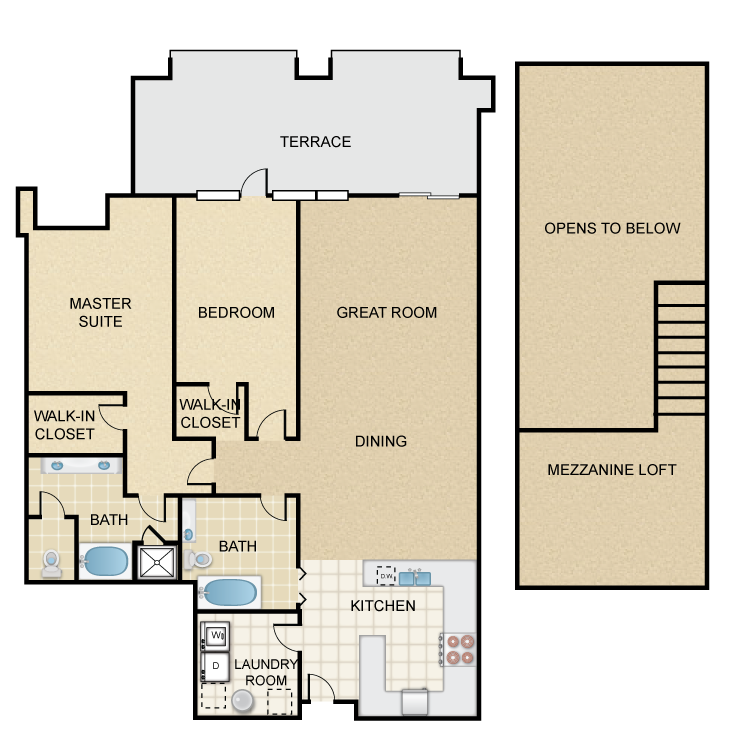 Floor plan image of Greenvale Villa