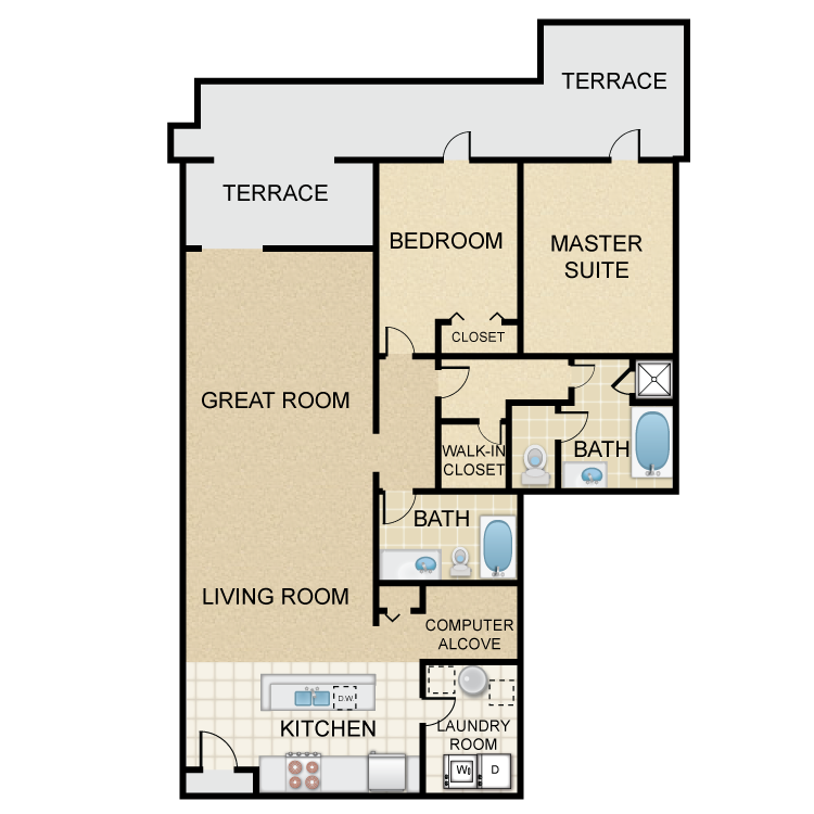 Floor plan image of Newbury