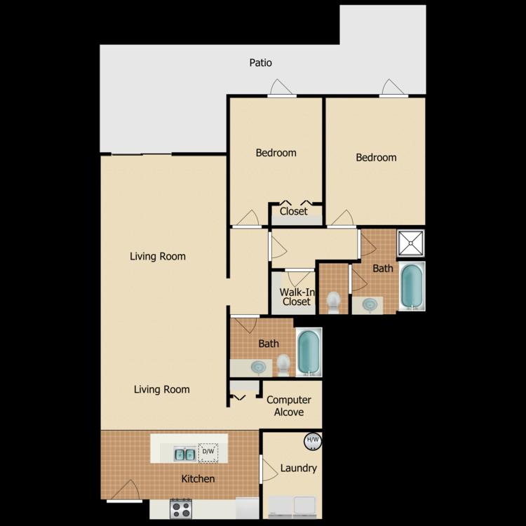 Floor plan image of Newbury
