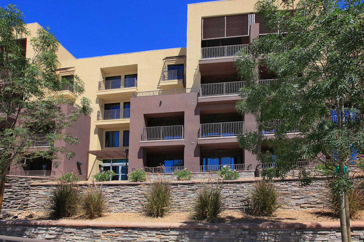 Private Balconies and Patios at Echelon at Centennial Hills