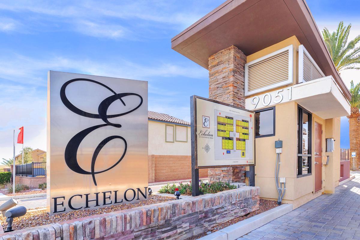 24-Hour gated access at Echelon at Centennial Hills