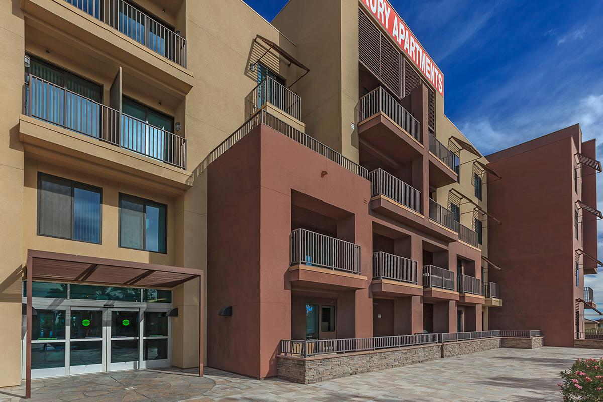 BALCONIES AND PATIOS AT ECHELON AT CENTENNIAL HILLS IN LAS VEGAS