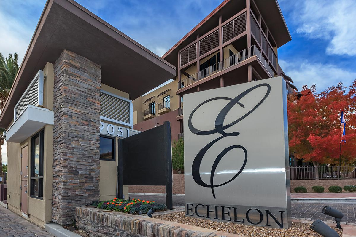ECHELON AT CENTENNIAL HILLS HAS GATED ACCESS