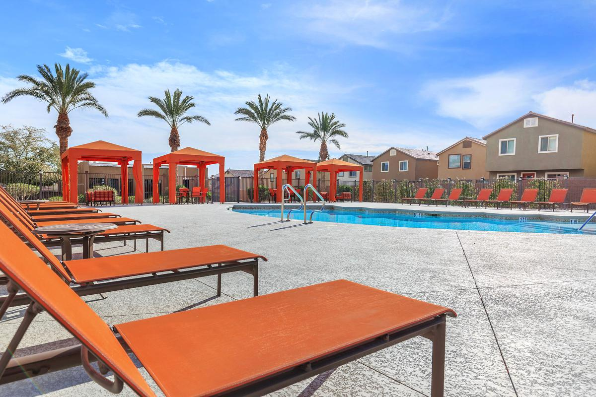 ECHELON AT CENTENNIAL HILLS IN LAS VEGAS HAS A POOL WITH SUNDECK