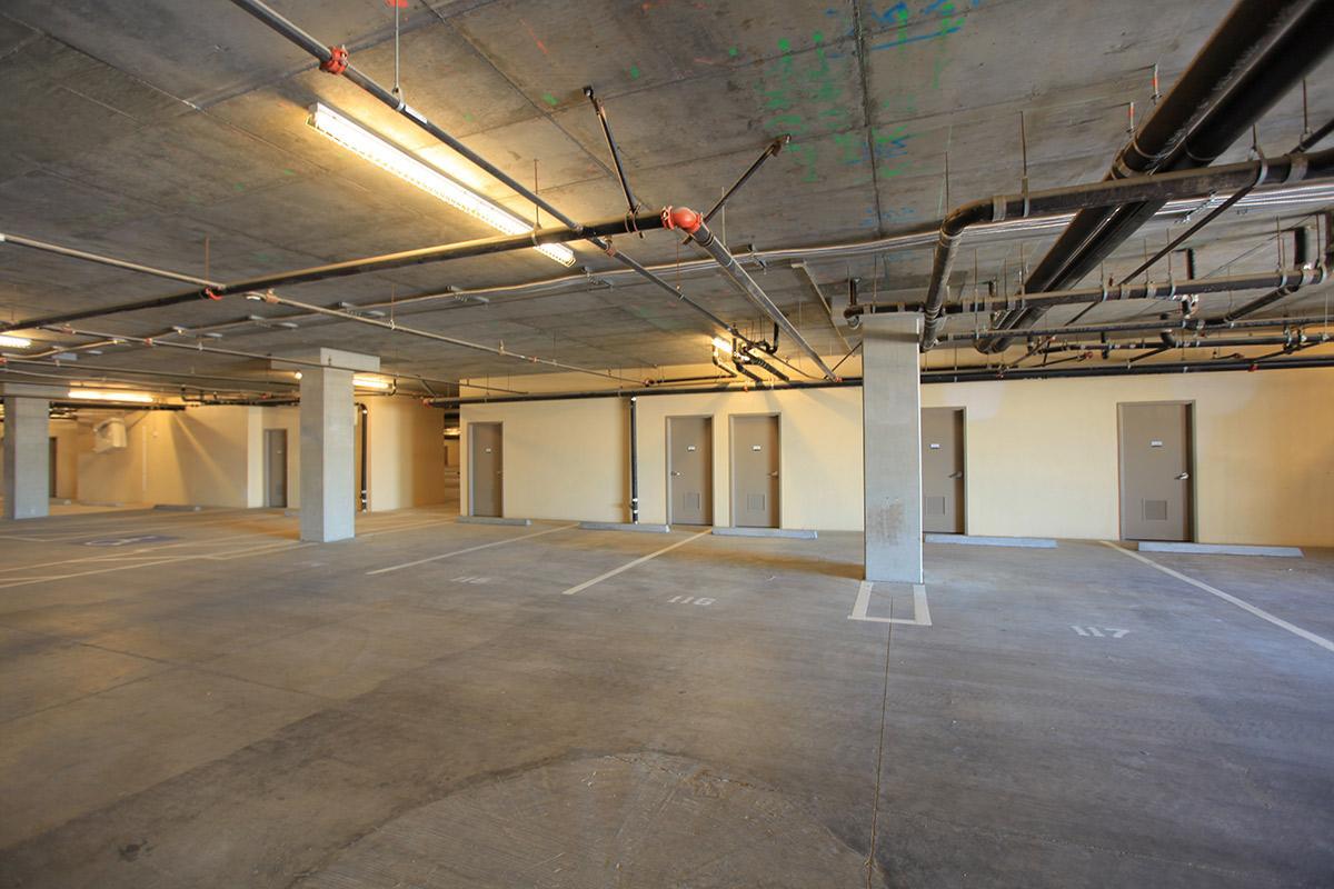 Underground parking garage at  Echelon  Centennial Hills