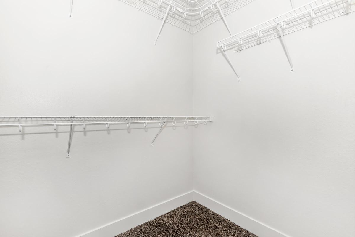 Spacious walk-in closets at Echelon at Centennial Hills