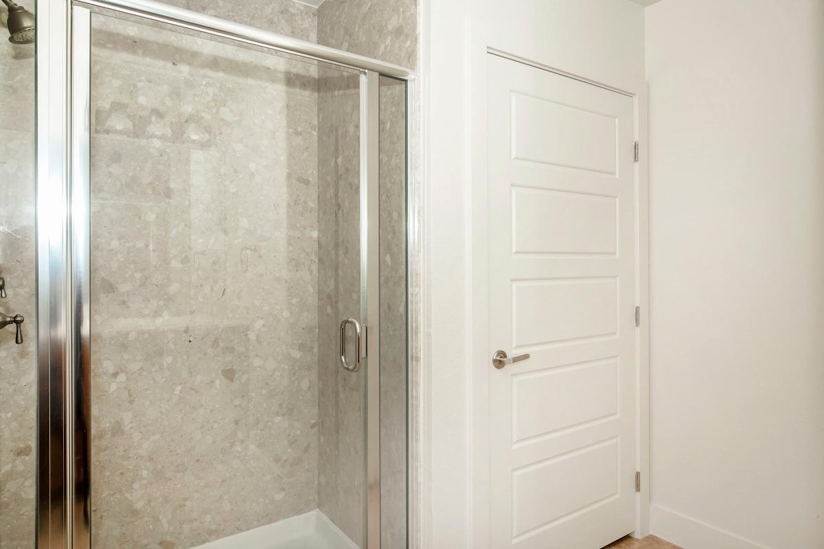 Glass Shower Doors are at Echelon Centennial Hills