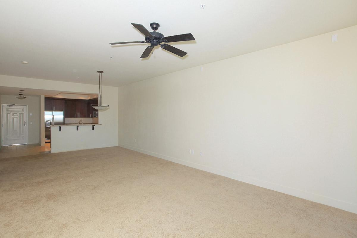 CEILING FANS AND TILE AND CARPETED FLOORS AT ECHELON AT CENTENNIAL HILLS IN LAS VEGAS