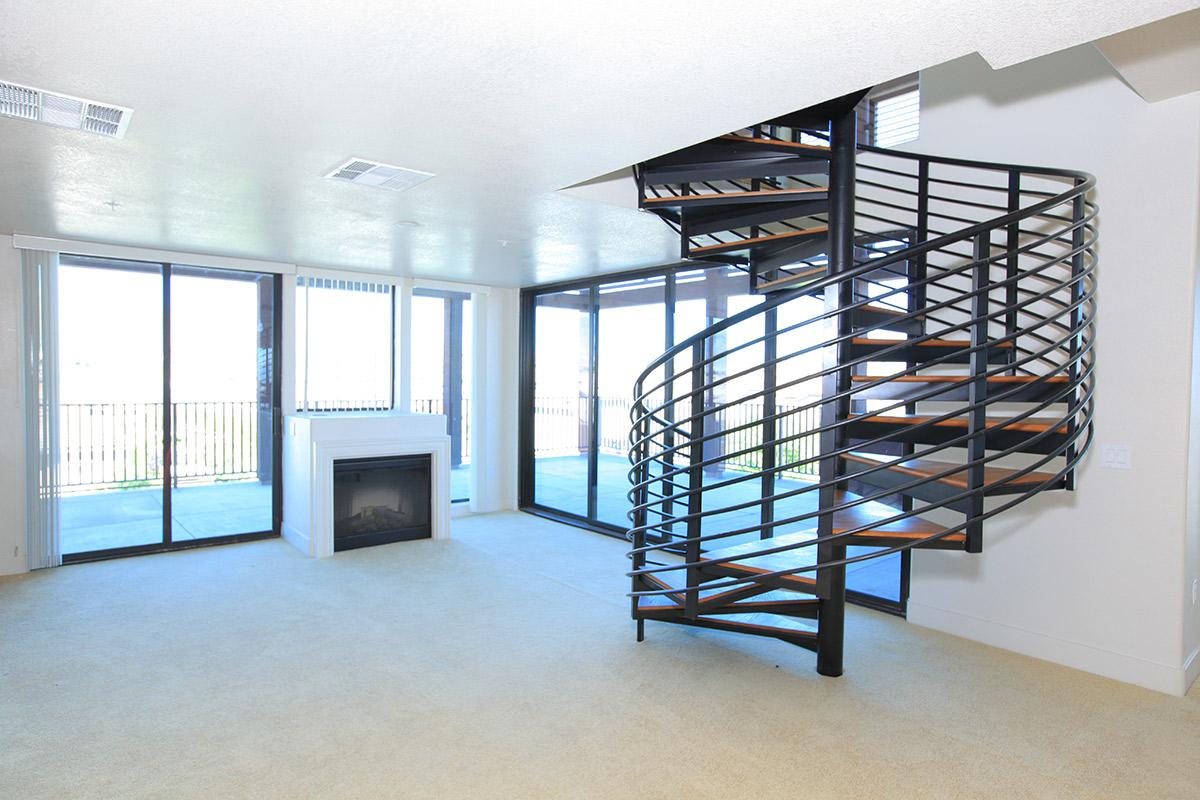 LOFTS WITH SPIRAL STAIRCASE AVAILABLE AT ECHELON AT CENTENNIAL HILLS IN LAS VEGAS