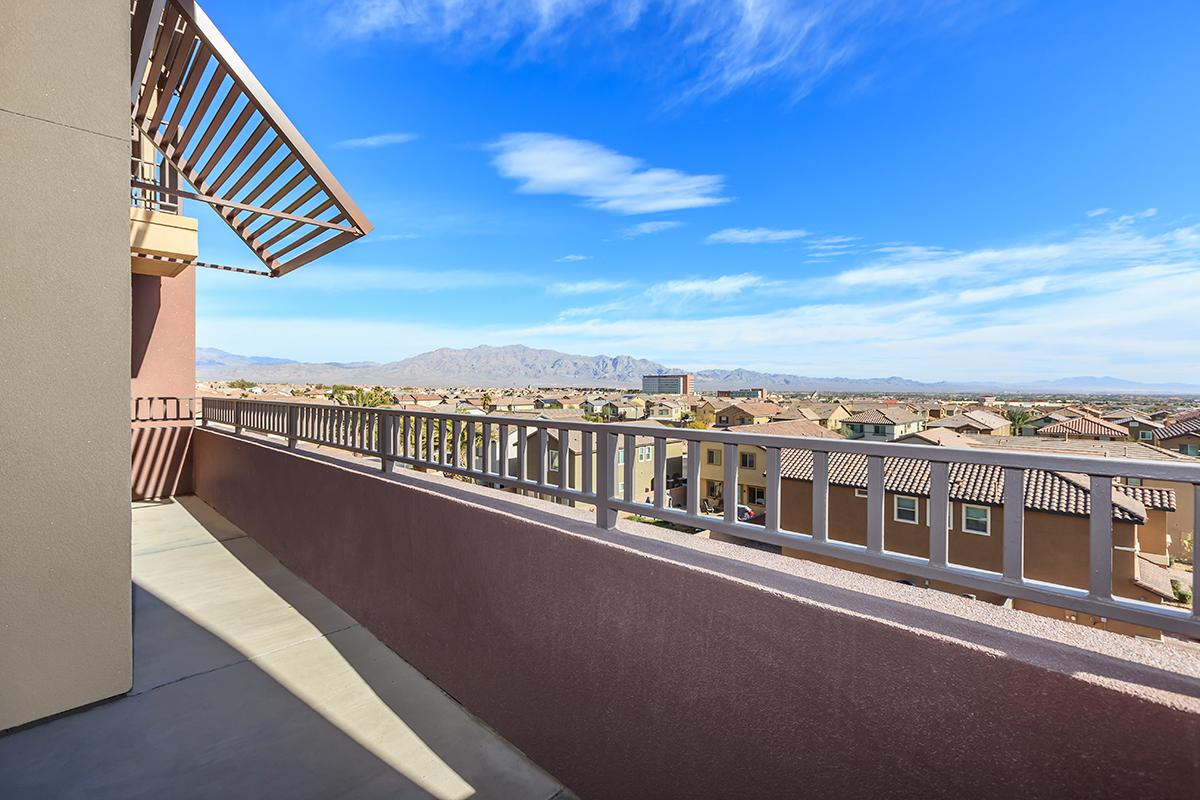 OVERSIZED BALCONIES AND PATIOS AT ECHELON AT CENTENNIAL HILLS IN LAS VEGAS
