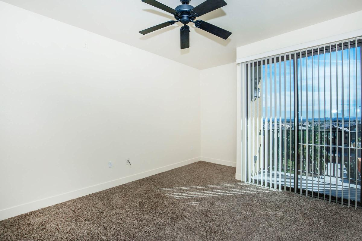 CEILING FANS, VERTICAL BLINDS, AND CARPETING AT ECHELON AT CENTENNIAL HILLS IN LAS VEGAS