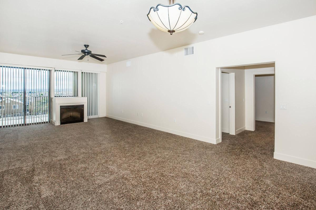 FIREPLACE, CEILING FANS, AND CARPETING AT ECHELON AT CENTENNIAL HILLS IN LAS VEGAS