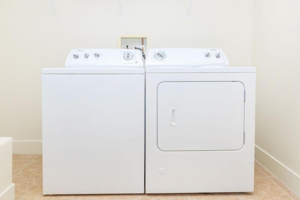 Full-size Washer and Dryers has been made available at Echelon at Centennial Hills