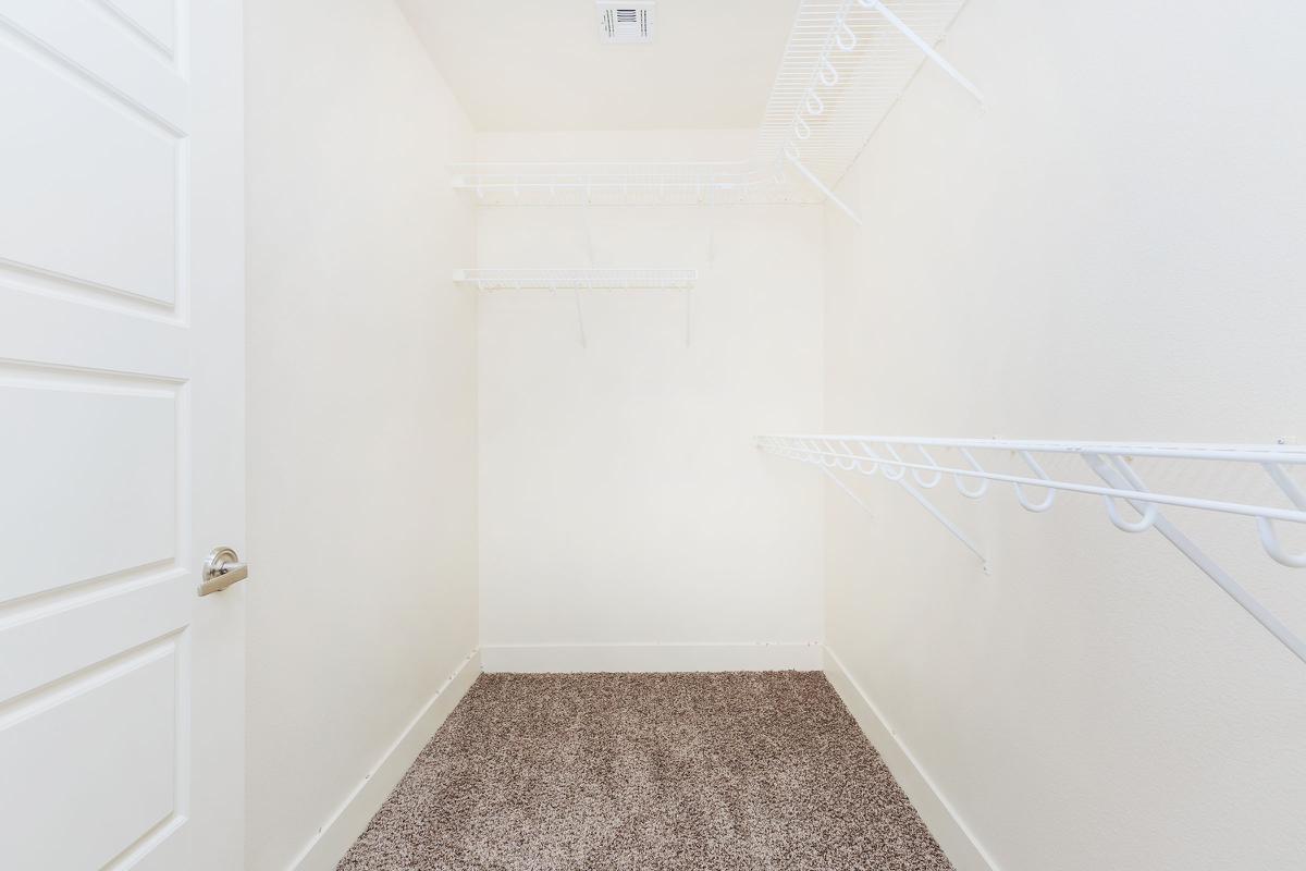 Echelon at Centennial Hills has shelving in walk-in closets