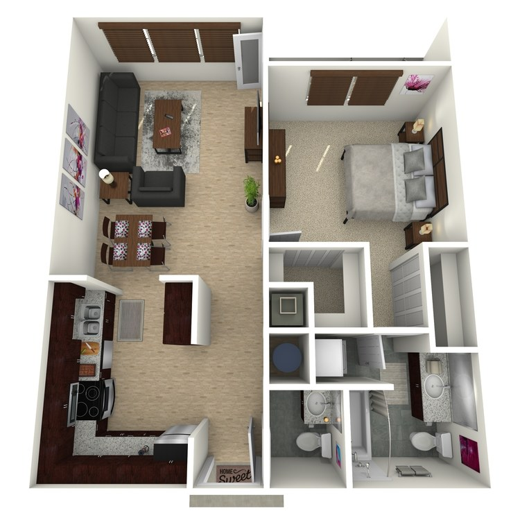 Floor plan image of The Astoria