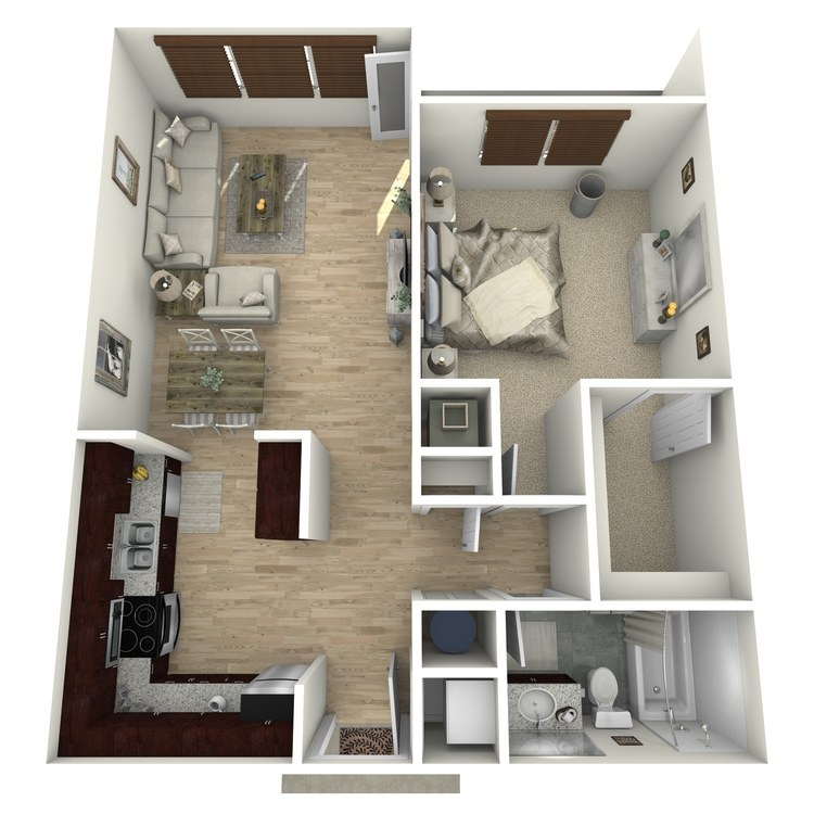 Floor plan image of The Biscayne