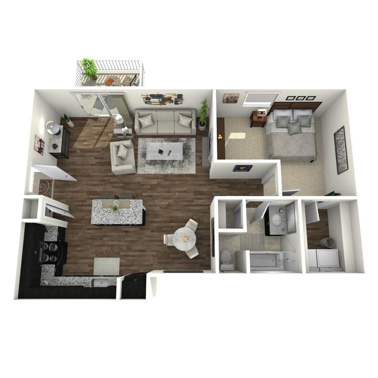 Floor plan image of Woodwind Plus