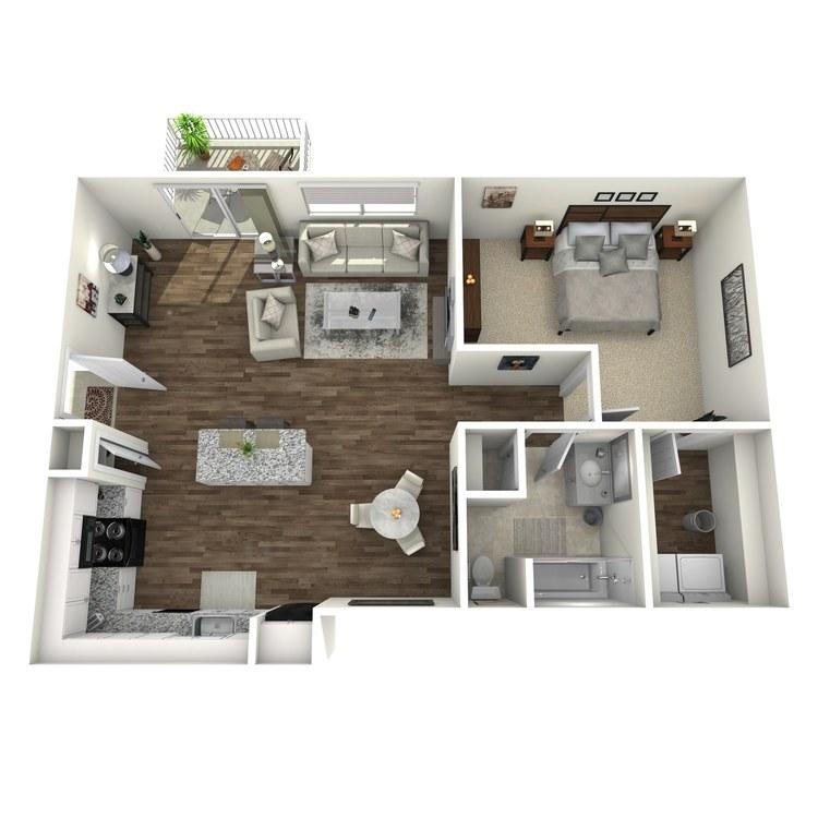 Floor plan image of Woodridge Plus