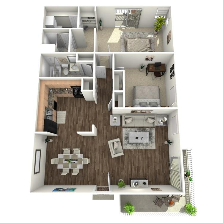 Floor plan image of Windsong