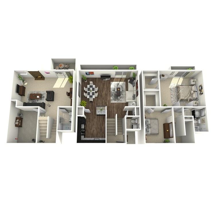 Floor plan image of Highland Plus