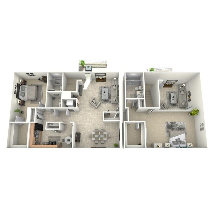 Floor plan image of Willow