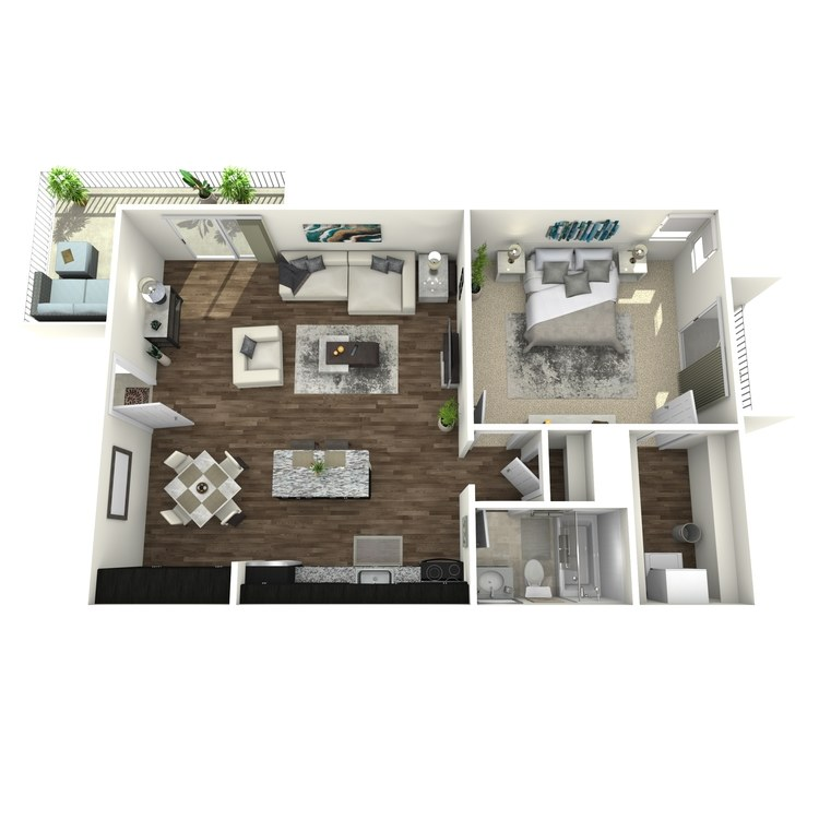 Floor plan image of Woodland Plus
