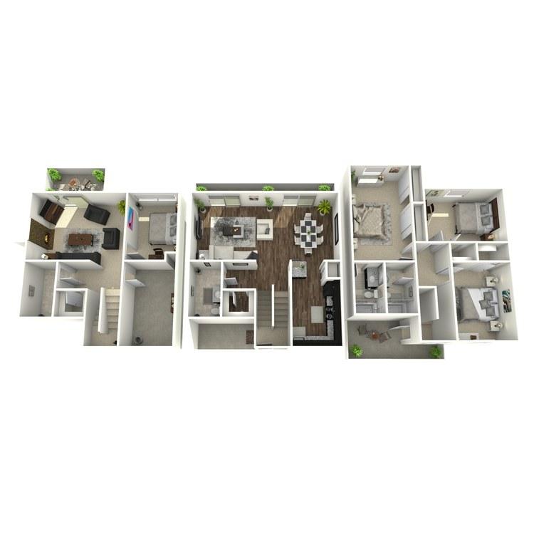 Floor plan image of Heatherbrook Plus
