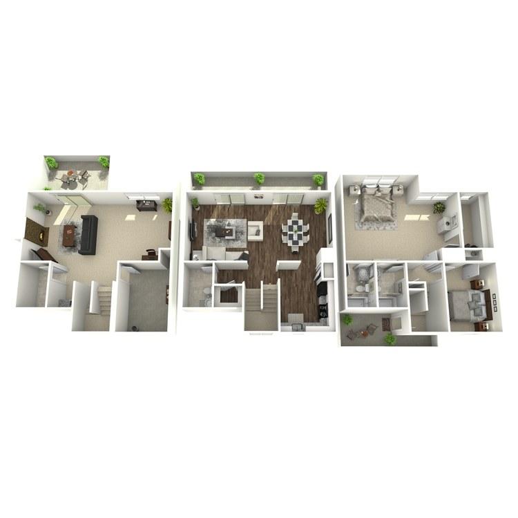 Floor plan image of Highland Large