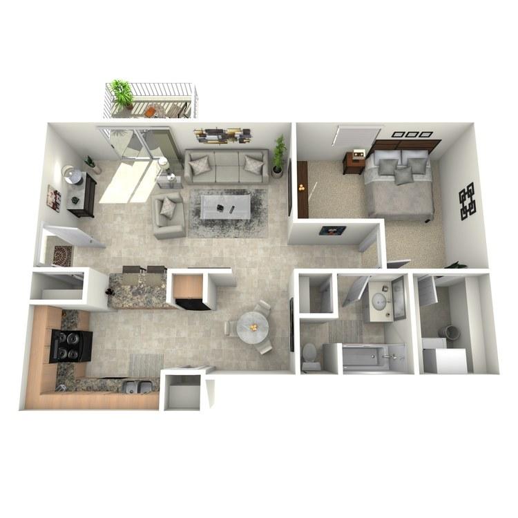 Floor plan image of Woodwind