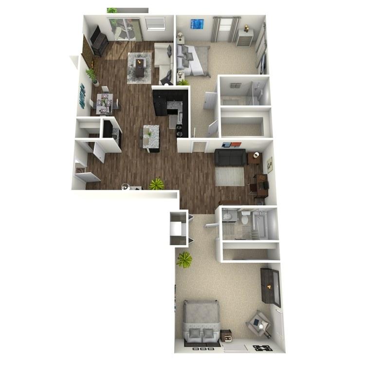 Floor plan image of Brookview Plus