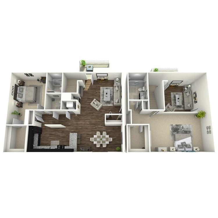 Floor plan image of Willow Plus