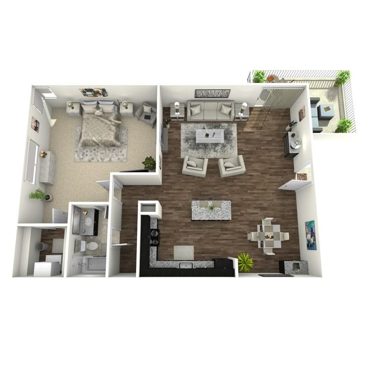 Floor plan image of Woodlark Plus