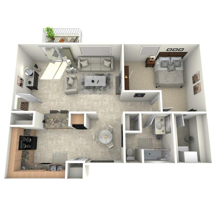 Floor plan image of Woodridge