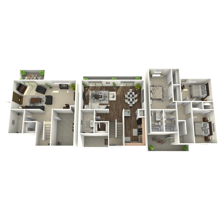 Floor plan image of Meadowbrook