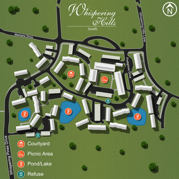 We make every effort to make our website accessible to anybody, especially those with disabilities. If you have question in terms of the relative location of an amenity or apartment home, please give us a call.