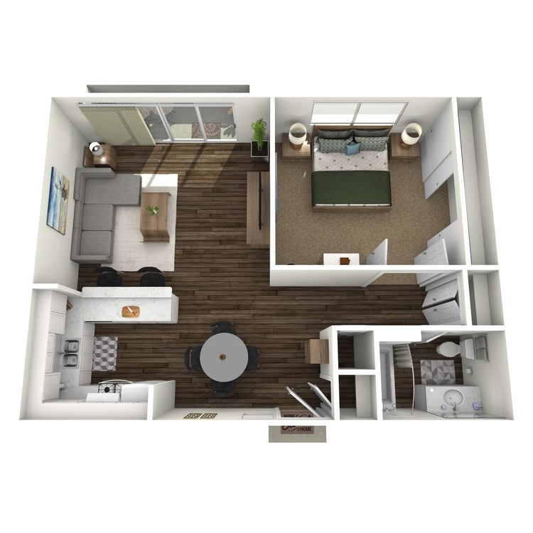 Floor plan image of The Olive