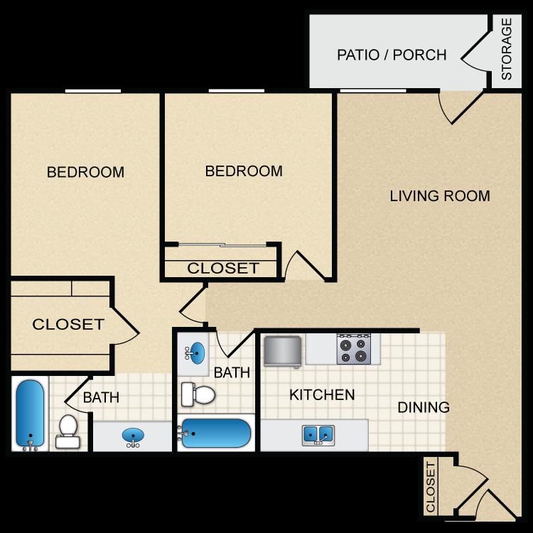 Floor plan image of Plan E