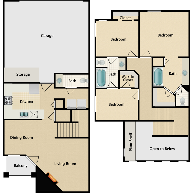Floor plan image of The Palazzo