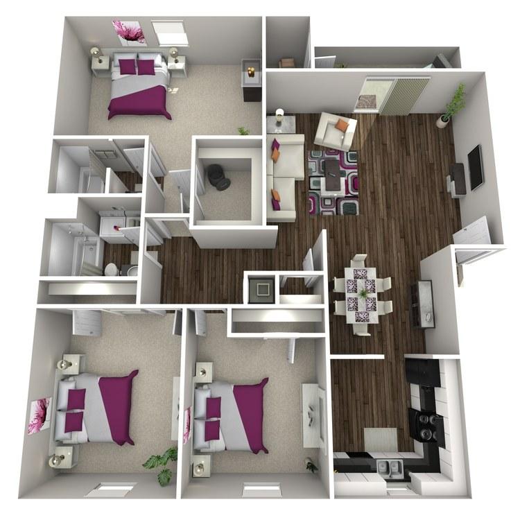 Floor plan image of Camellia