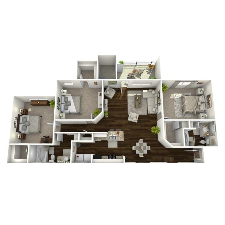 Floor plan image of Walden