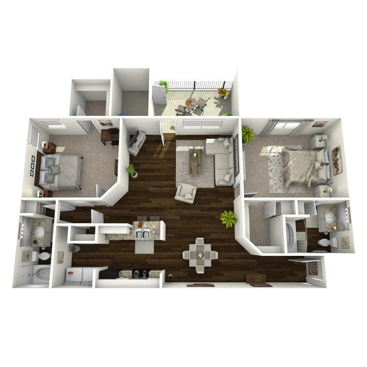 Floor plan image of Laurel