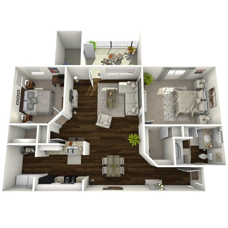 Floor plan image of Oakdale