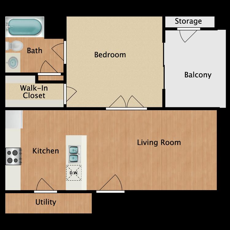 Floor plan image of The Heinz