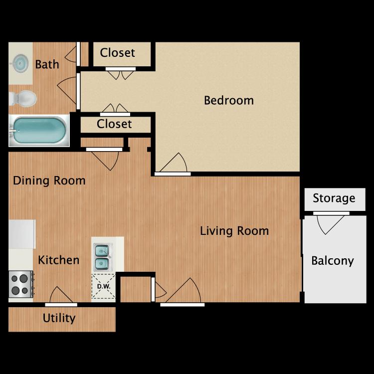 Floor plan image of The Arabella