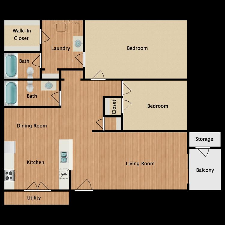 Floor plan image of The Herietta